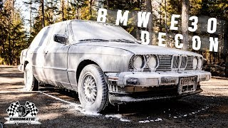 Auto Detailing ASMR! BMW E30 Decontamination Wash