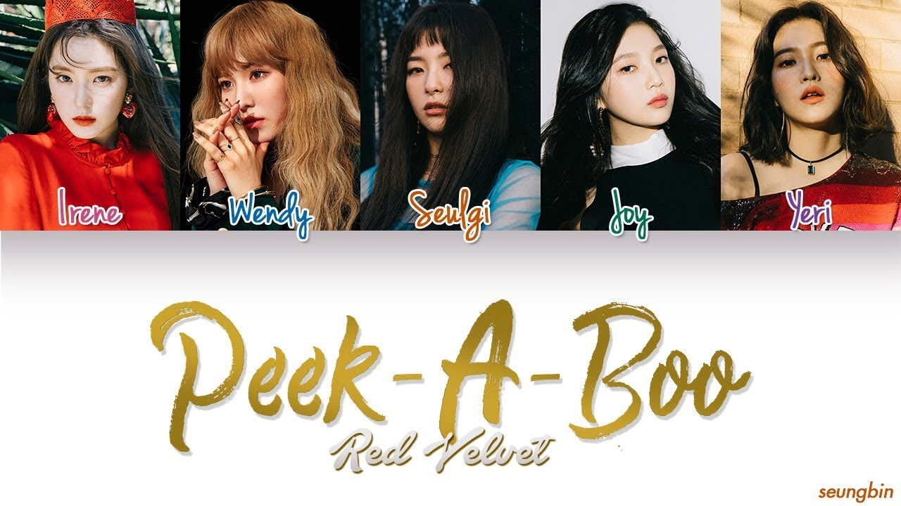 Download Red Velvet (레드벨벳) 'Peek-A-Boo' [Color Coded Han|Rom|Eng lyrics]