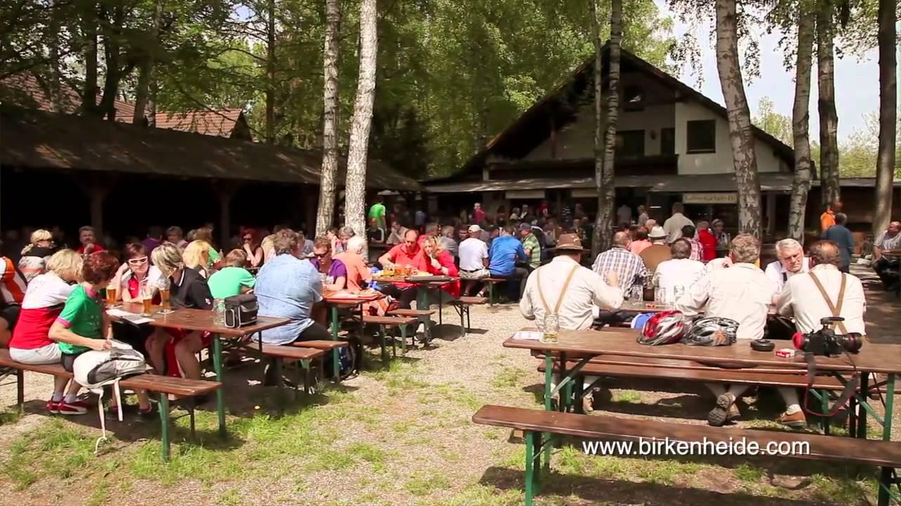 Biergarten Birkenheide  YouTube