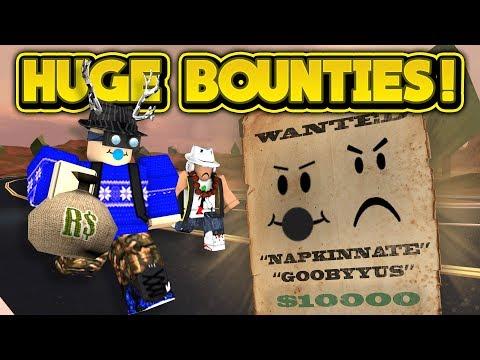GETTING HUGE BOUNTIES! (ROBLOX Jailbreak)