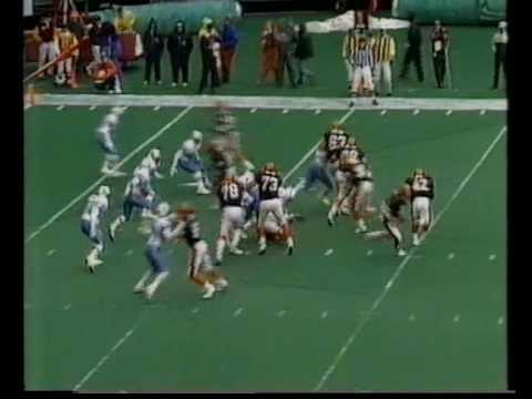 Houston Oilers @ Cincinnati Bengals, 1991