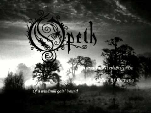 Opeth - Soldier of Fortune (Lyrics)