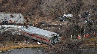 مقتل أربعة أشخاص وجرح العشرات في حادث قطار بنيويورك