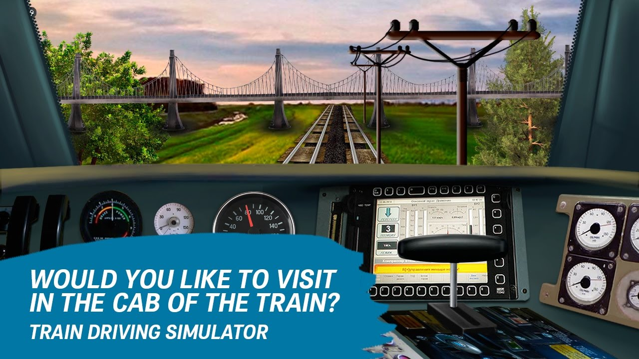 Train Driving Simulator 2015 Android İos Free Game