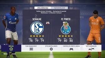 🔴 FC Schalke 04 : FC Porto Champions League 🏆 FIFA 18 Gameplay Deutsch Livestream
