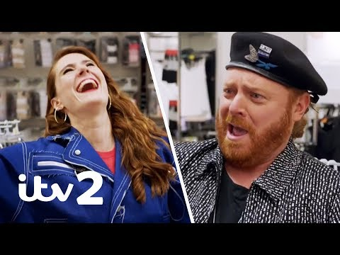 Kate Nash Shows Off Her American Accent and Talks Veganism | Shopping with Keith Lemon