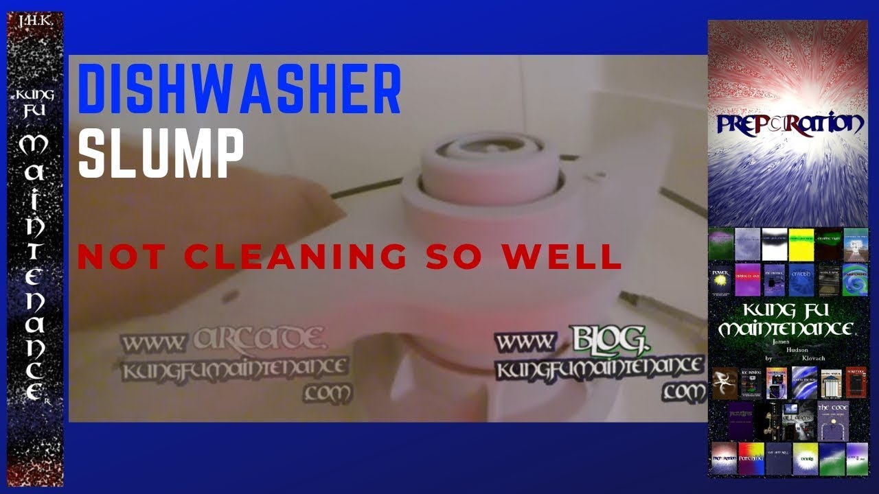 whirlpool dishwasher not cleaning well how to remove plus replace sump cover maintenance video [ 1280 x 720 Pixel ]