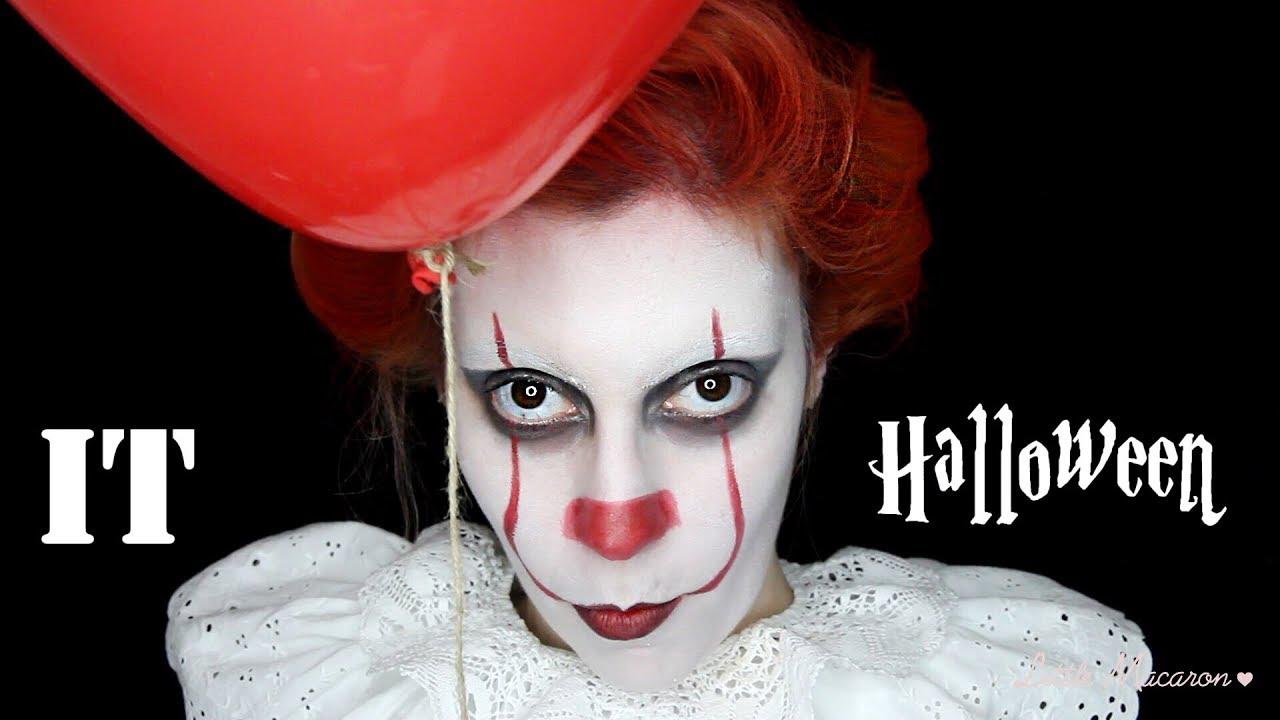 maquillage halloween it
