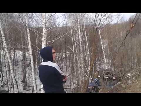 дтп 15.04.2014 аксеновский спуск трасса уфа-белебей часть 2