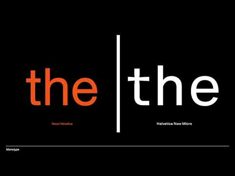 Video: The resurrection of Helvetica, the world's most popular font, as Helvetica Now