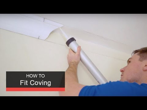 How To Fit Coving With Wickes