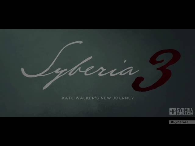 Syberia 3 - Bande-annonce de gameplay