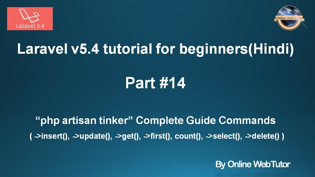 laravel v5 4 tutorial for beginners in hindi part 14 php artisan rh youtube com Makes a Request a Command Command- Prompt