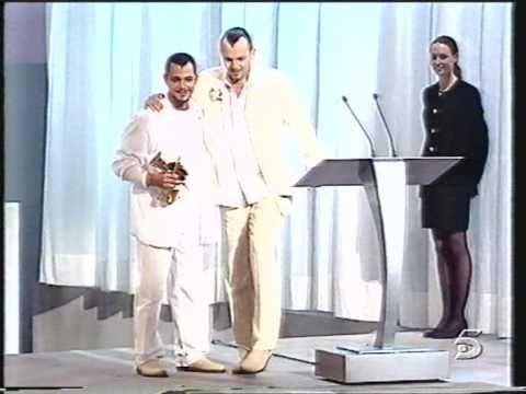 Premios de la música 99: Alejandro Sanz y Migue Bose
