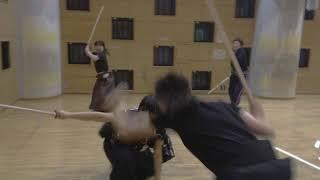 月5~6回、京王井の頭線の「高井戸」駅前の施設にて、 殺陣教室をひら...