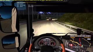 Euro Truck Simulator 2 МП рейс с Mr EXE