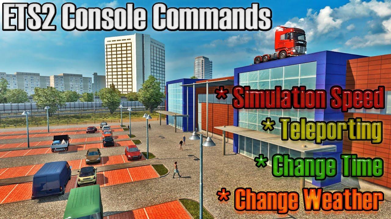 ets 2 console code