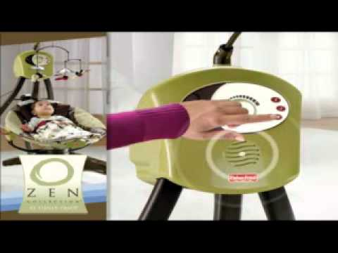 Fisher Price Zen Collection Cradles Swing