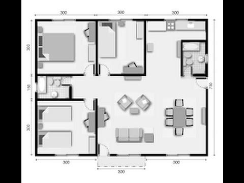 Planos de casas prefabricadas youtube for Programa para planos de viviendas