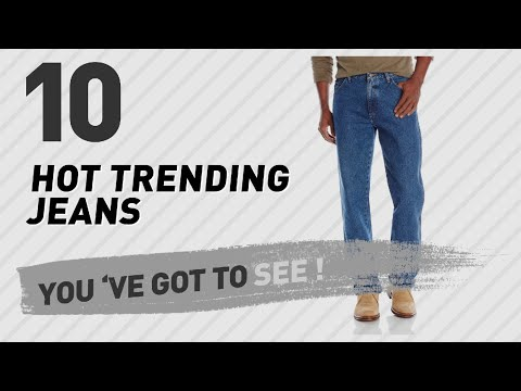 Wrangler Jeans Men, Top 10 Collection // New & Popular 2017