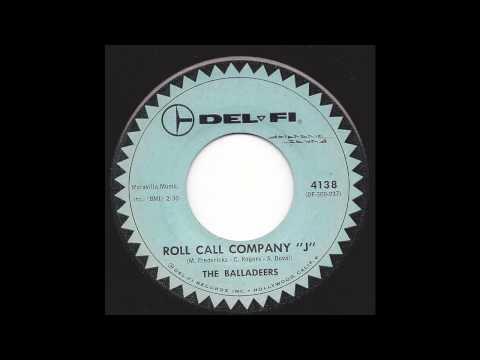 "The Balladeers - Roll Call Company ""J"" - '60 Pop-Folk mix"