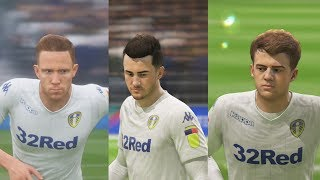 FIFA 19 | Leeds United Player Faces | Including all New Signings!