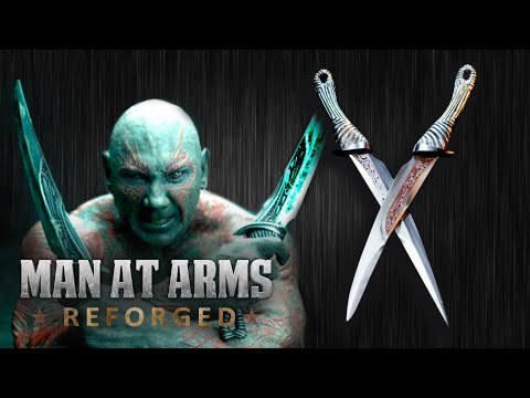 Drax's Daggers (Guardians of the Galaxy) - MAN AT ARMS: REFORGED
