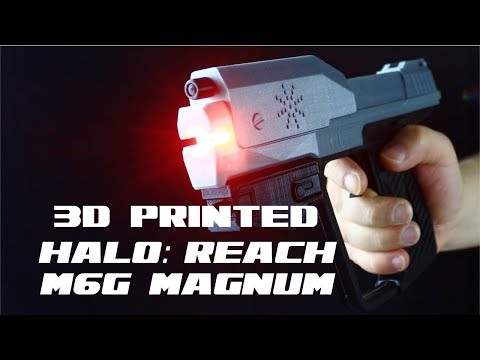 PropBoard - Halo: Reach M6G Magnum Prop (3d-printed)