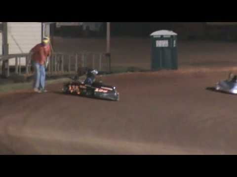 Dirt Oval Kart Racing