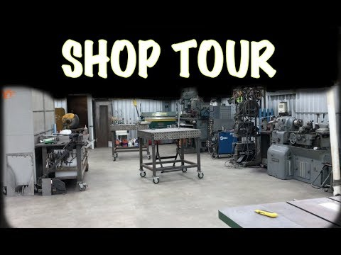 2018 Fab Welding Shop Tour - Shop layout - organization - work flow - ideas