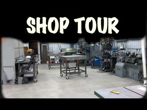 2018 Fab Welding Shop Tour Shop Layout Organization