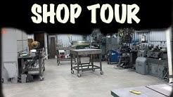 2018 Fab Welding Shop Tour - Shop layout - organization - work flow - ideas