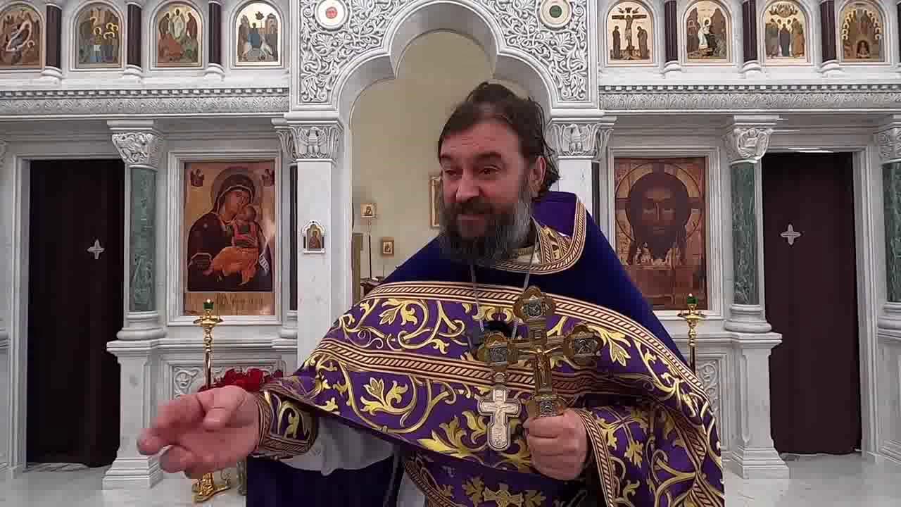 Ako je Bog dobar, zašto tako stradamo? Sedam Hristovih reči na krstu! - otac Andrej Tkačov