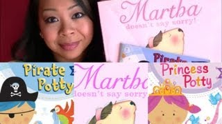 (CLOSED) BOOK REVIEWS & GIVEAWAY!!! Martha Doesn't Say Sorry, Pirate Potty & more by Samantha Berger