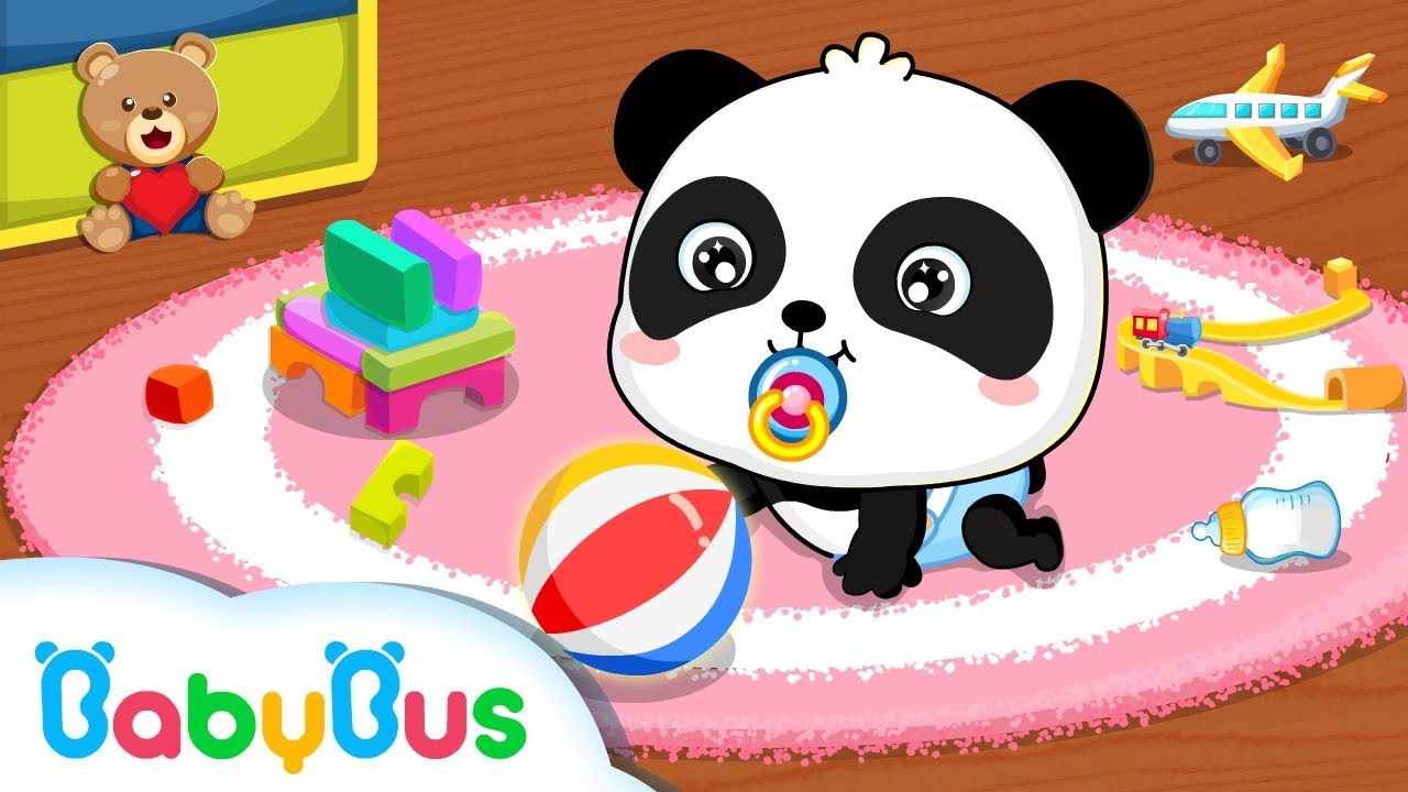 Baby Panda Care Game For Kids App Gameplay Video