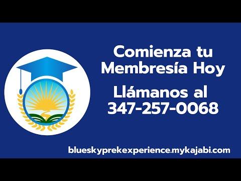 Conoce Beneficios de la Membresía de Blue Sky Pre K Experience para el Negocio del Cuidado Infantil