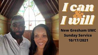 New Gresham UMC Sunday Service 10/17/2021