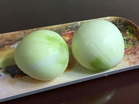 tip: how to clean an onion - 양파 씻는 방법