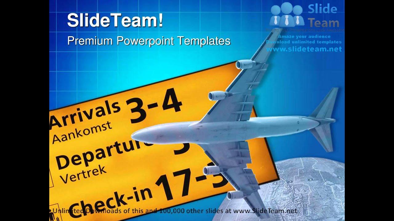 transportation and travelling symbol powerpoint templates themes, Powerpoint templates