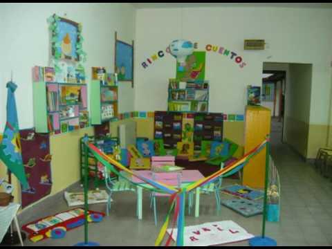 Rinc n de lectura en jard n de infantes n 1 ni o jes s for Decoracion salas jardin de infantes