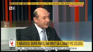 Basescu a vrut sa-l demita pe Florian Coldea dupa episodul filajului de la Paris