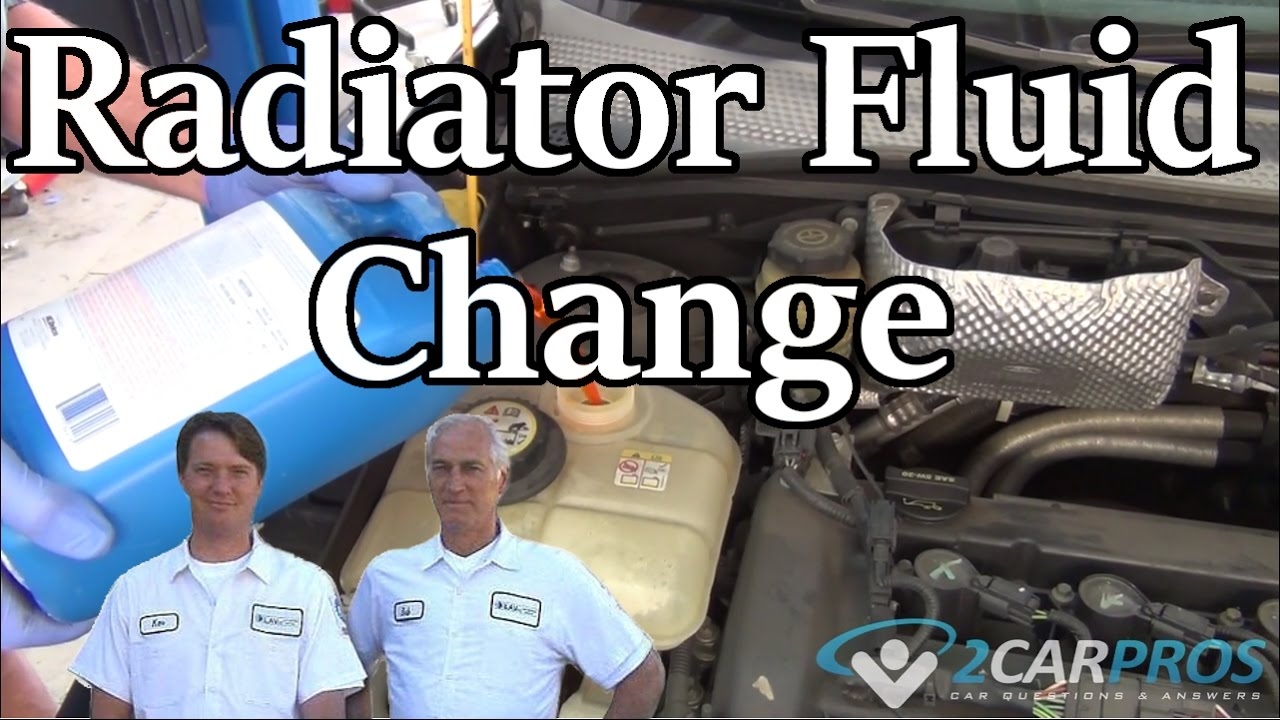 How To Drain And Fill Coolant Ford Focus 1999 2007 Youtube Fusion Cooling System