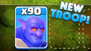 x90 NEW BOWLER! - Clash of Clans - New Update
