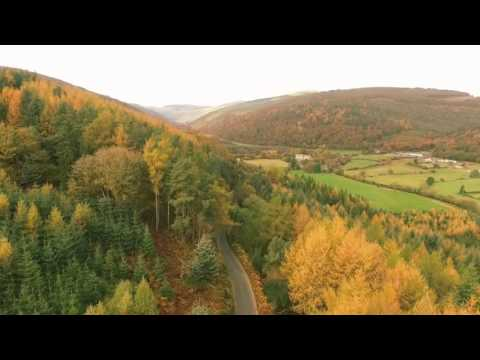 Glendalough / Wicklow Ireland on the drone
