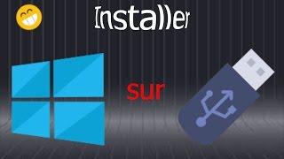 Installer Windows sur un périphérique externe (Créer un Windows portable) !