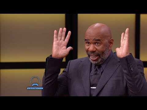 Steve Harvey Opened Up About Why Men Shouldn't Fight Going Bald