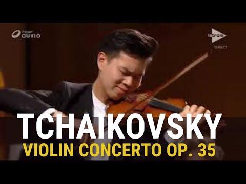 Tchaikovsky: Violin Concerto In D Major | Timothy Chooi |  Belgian National Orchestra