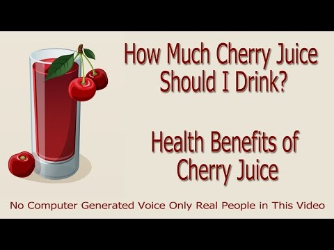 Cherry Juice Benefits - How Much Cherry Juice Should I Drink?