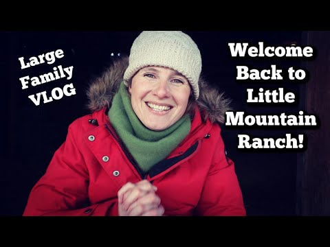 Welcome Back! | Large Family VLOG | Maple Candy Recipe