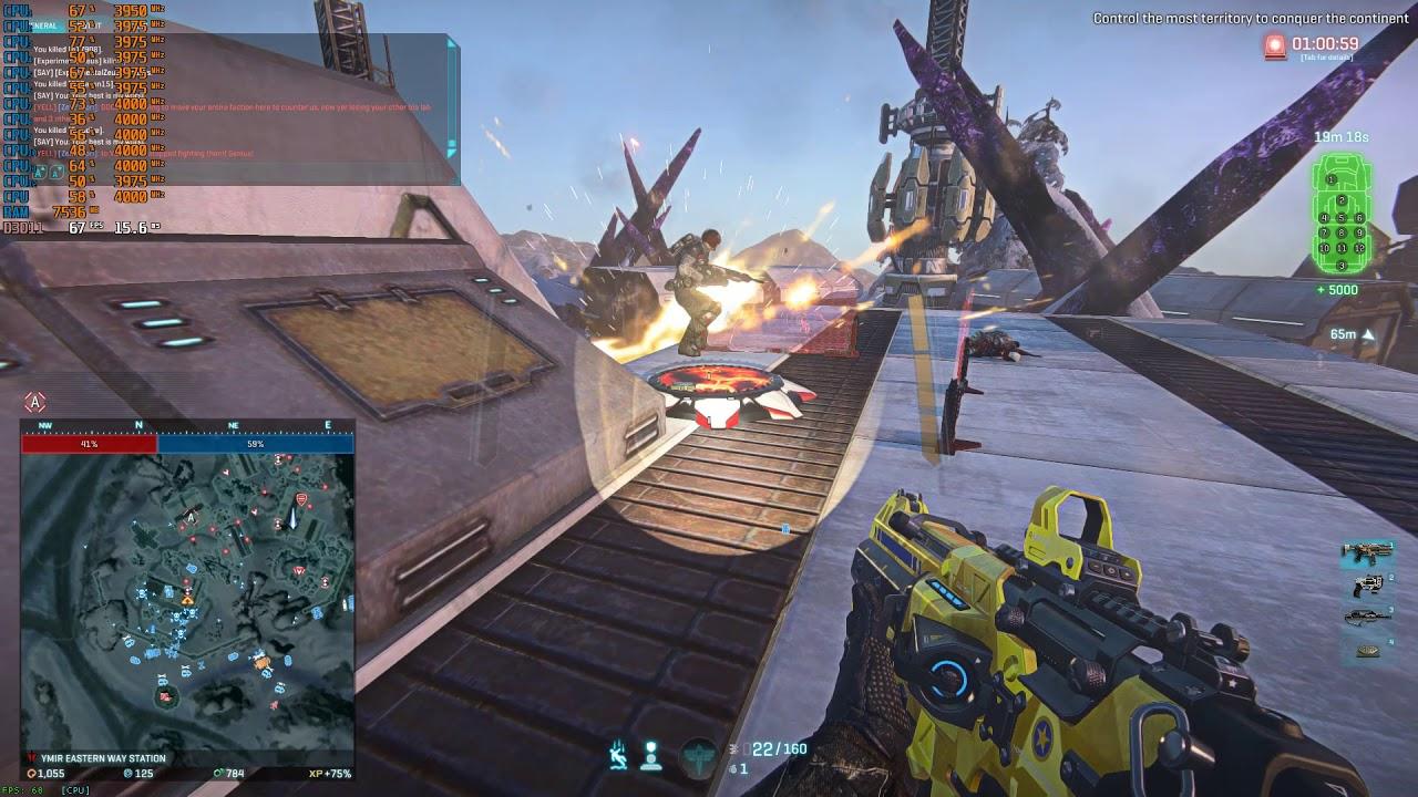 Planetside 2 96+ Battle - Testing the Ryzen 5 3600!!! (Short Video)
